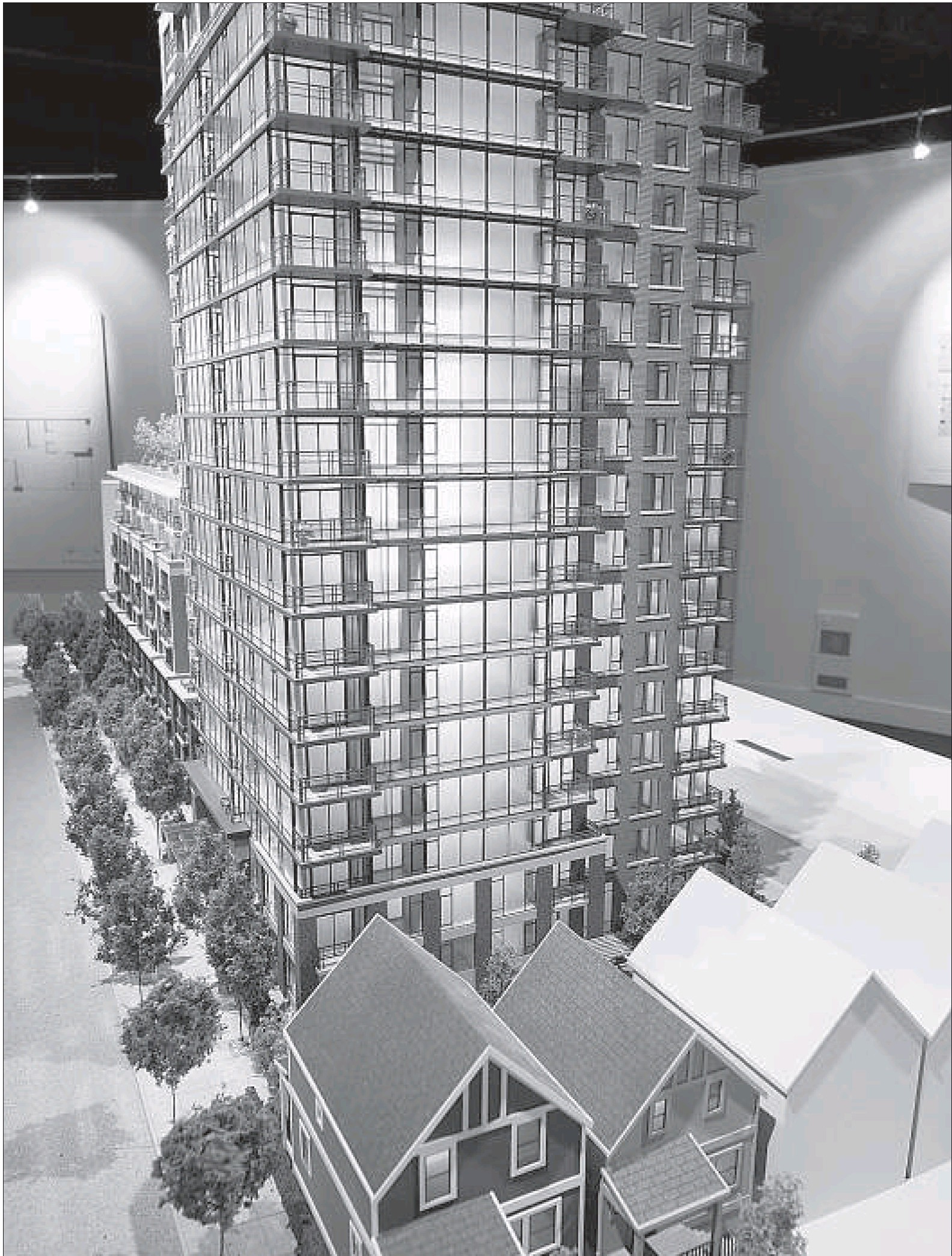 Richards New 18 storey, 226 suite building at 1036 Richards by