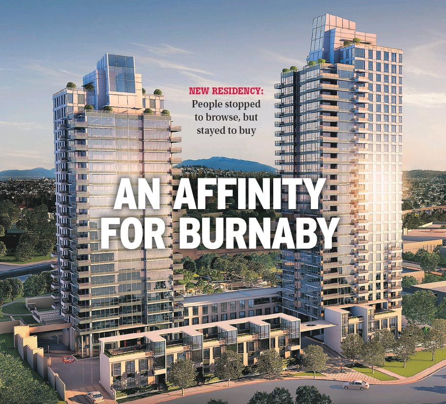 Affinity 2200 Douglas Road Burnaby Stands Tall In