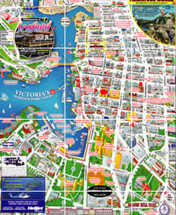 Victoria Bc Tourism Map