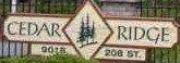 Cedar Ridge 9018 208TH V1M 2Y8