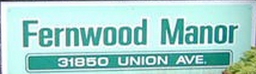 Fernwood Manor 31850 UNION V2T 4V2