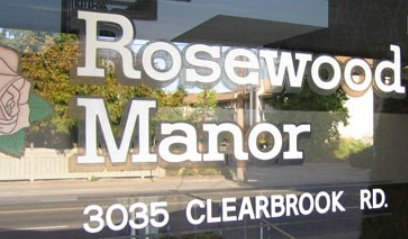 Rosewood Manor 3035 CLEARBROOK V2T 2Z9