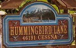 Hummingbird Lane 46191 CESSNA V2P 1A7