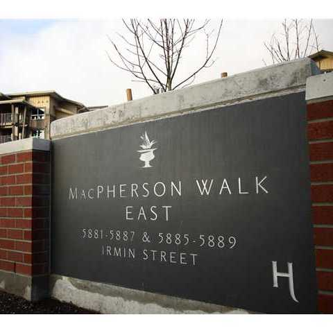 Macpherson Walk East - Logo!