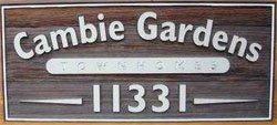 Cambie Gardens 11331 CAMBIE V6X 1L3
