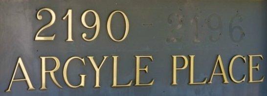 Argyle Place 2190 ARGYLE V7V 1A4