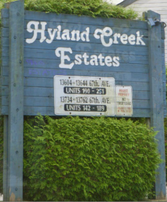 Hyland Creek 13612 67 V3W 6X5