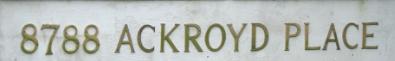 Ackroy Court 8788 ACKROYD V6X 1B5