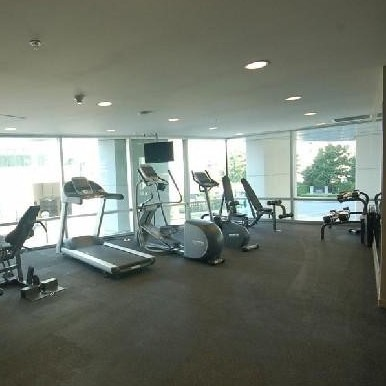 The exercise room!