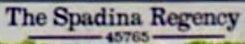 Spadina Regency 45765 SPADINA V2P 1T5