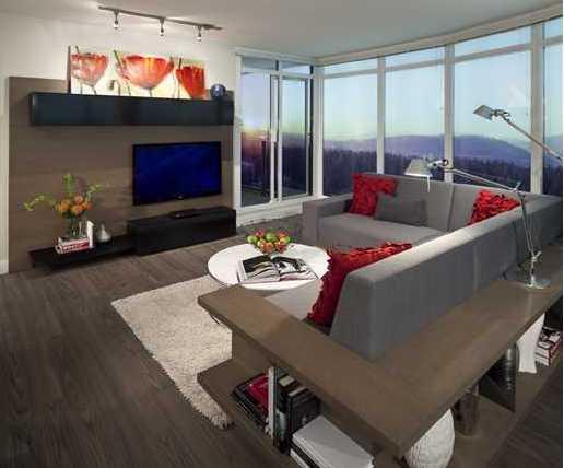 The Austin - Living Room!
