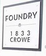 Foundry 1833 CROWE V5Y 0A2