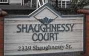 Shaughnessy Court 2339 SHAUGHNESSY V3C 3E2