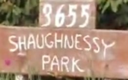 Shaughnessy Park 3655 SHAUGHNESSY V3B 6C8