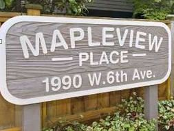 Mapleview Place 1990 6TH V6J 4V4