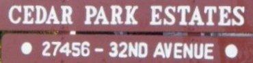 Cedar Park 27456 32ND V4W 3P3
