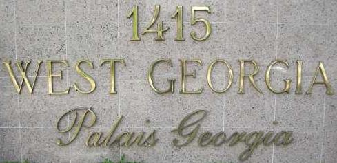 Palais Georgia 1415 GEORGIA V6G 3C8