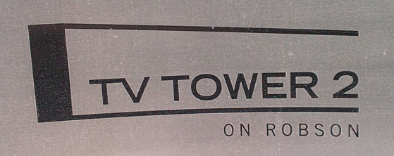 Tv Tower 2 233 ROBSON V6B 0E8