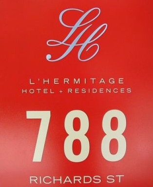 L'hermitage 788 RICHARDS V6B 0C7
