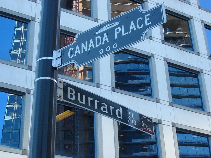 Canada Place & Burrard!