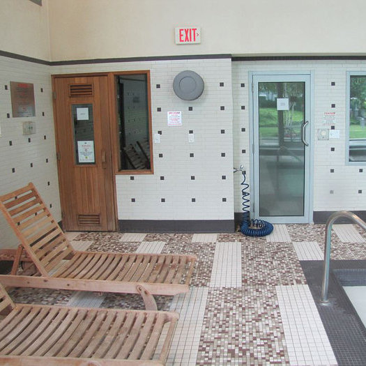 Sauna And Steam Rooms!