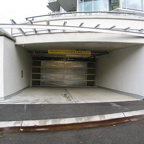 Parkade Entrance!