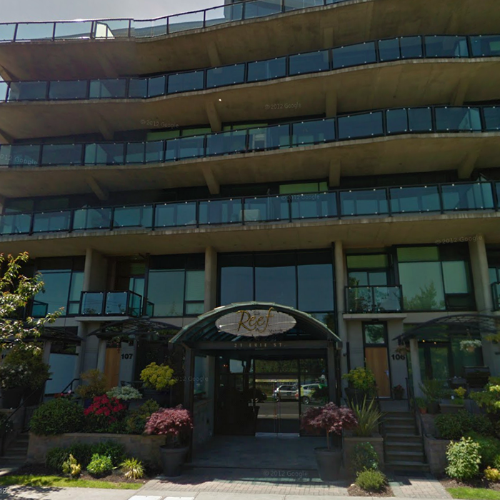 21 Erie Victoria BC Building Exterior!