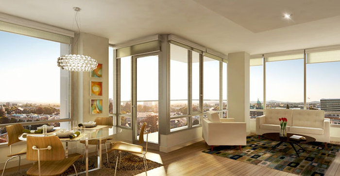 Duet display suite - living & dining room!