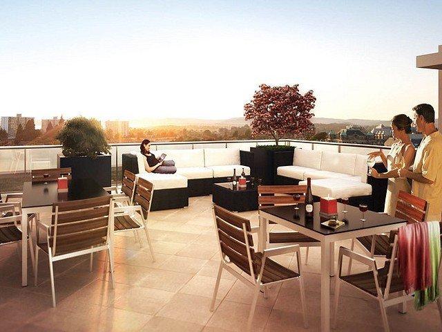 Duet display suite - terrace!