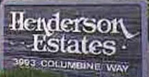 Henderson Estates 3993 Columbine V8Z 6Z3