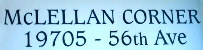 McLellan Corner 19705 56 V3A 3X7