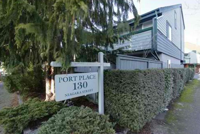 130 Niagara Victoria BC Building Exterior!