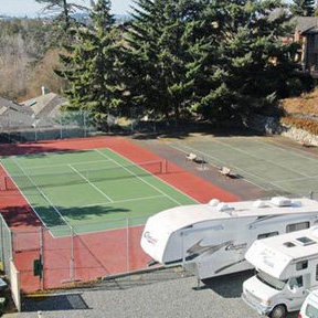 Tennis Court and RV Storage!