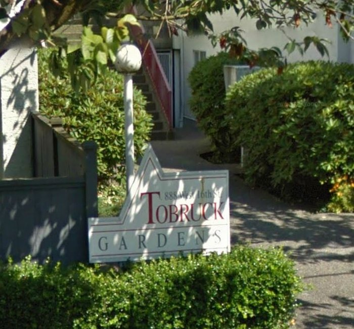 Tobruck Gardens 888 16TH V7P 1R3