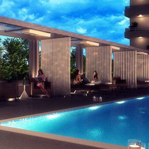 Rendering - Swimming pool!
