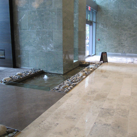 Lobby Water Feature!