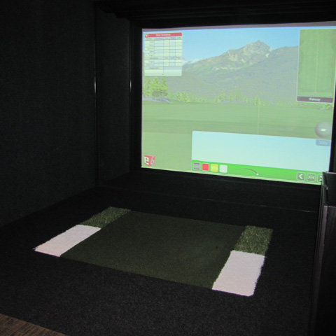 Indoor Golf!