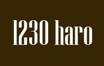 1230 Haro 1230 HARO V6E 4J9