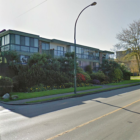Street view at Burrard!