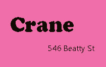 Crane 546 BEATTY V6B 2L3