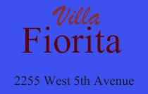 Villa Fiorita 2255 5TH V6K 4K1