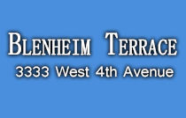 Blenheim Terrace 3333 4TH V6R 1N6