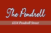 The Pendrell 1234 PENDRELL V6E 1L6
