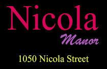 Nicola Manor 1050 NICOLA V6G 2C9