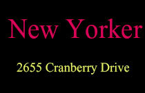 New Yorker 2655 CRANBERRY V6K 4V5