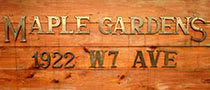 Maple Gardens 1922 7TH V6J 1T1