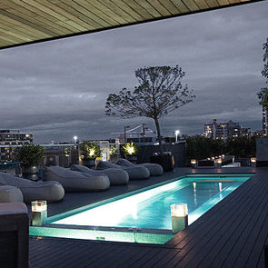 Private roof top deck!
