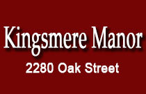 Kingsmere Manor 2880 OAK V6H 2K5