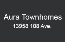 Aura Townhomes 13958 108TH V3T 0B4