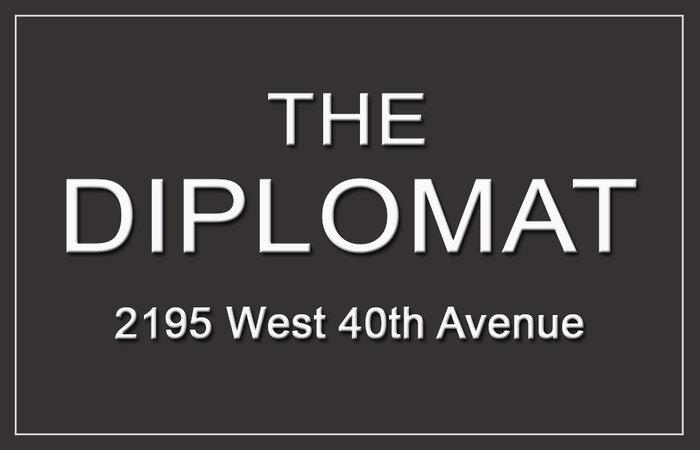 The Diplomat 2195 40TH V6M 1W4